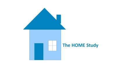 HOME logo large text